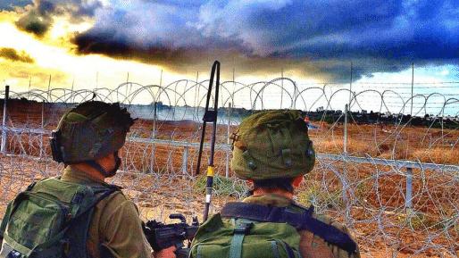 """כוח צה""""ל דיווח על ירי בגבול הרצועה: אזרחים פונו מאזור הגדר"""