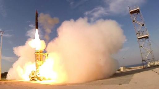 צפו: הניסוי המוצלח הבוקר של שיגור מיירט חץ 3