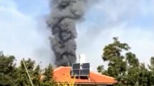 """שריפה פרצה במפעל עופות בכפר חב""""ד"""