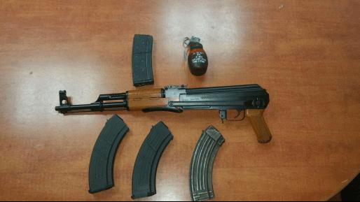 רובה נתפס ע״י כוחותינו בגוש עציון