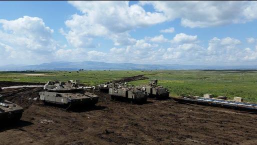 בתגובה לזליגת ירי: צה״ל תקף מטרות של צבא סוריה