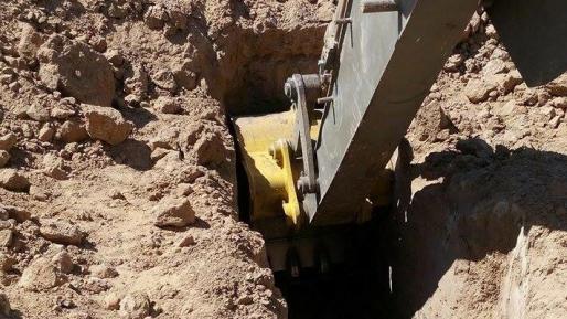 """מנהרת חמאס שנחפרה לאחר """"צוק איתן"""" התגלתה בשטח הארץ"""