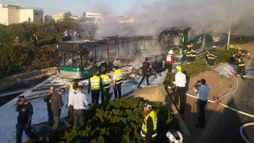 """חמאס: """"הפיגוע באוטובוס בתגובה לחילול מסגד אל אקצא"""""""