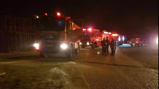 שריפה פרצה סמוך לזרעית בגבול ישראל-לבנון