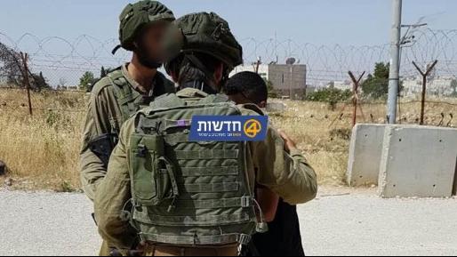 מחבל חמוש בסכין נעצר באזור הכפר עראנה