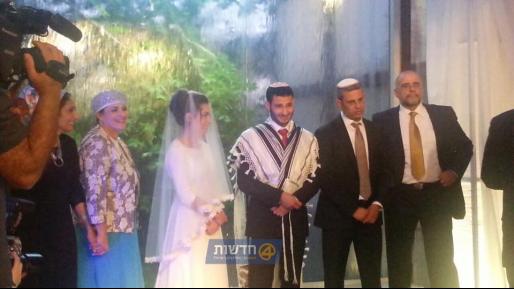 אחרי שנפצע קשה בפיגוע הדריסה, התחתן הלילה רועי קפאח