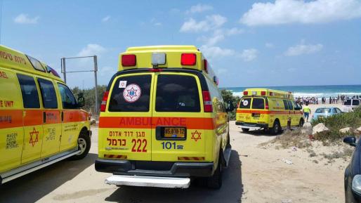 10 נפגעים בתאונת שרשרת בטבריה