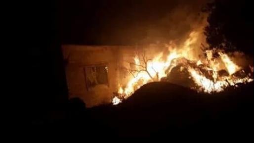 שוב הצתה בכפר דומא על רקע סכסוך פנימי