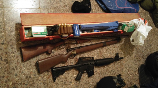 כוחותינו מצה״ל ומשטרת מחוז ש״י תפסו אמל״ח בעקרביה ובחרבתא אבו לחם