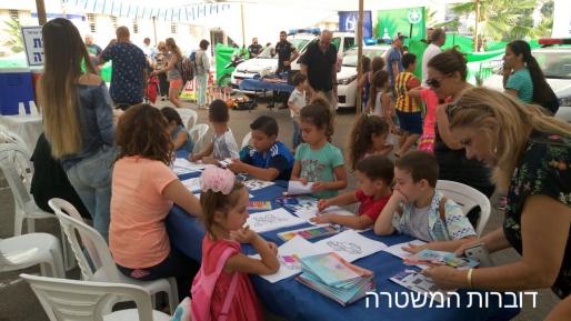 עשרות מבקרים ביום פתוח בתחנת המשטרה זבולון