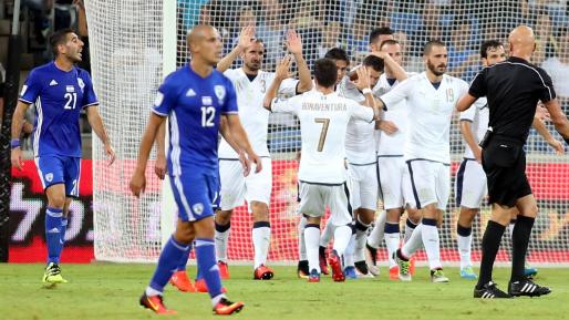 נבחרת איטליה ניצחה 1:3 את נבחרת ישראל