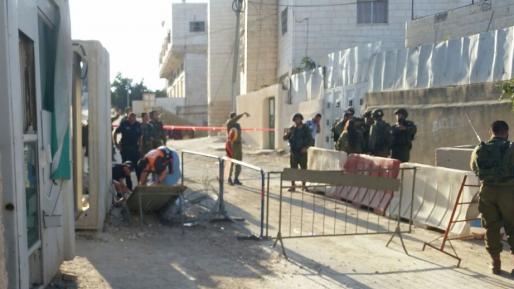 הפיגוע השלישי בתוך מספר שעות התרחש במקום בו אזריה חיסל את המחבל