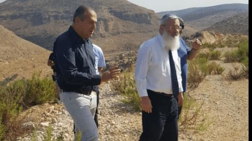 """סגן שר הביטחון: """"תוך חודשיים נתחיל בסלילת כביש נבי אליאס"""""""