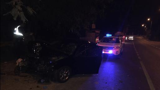 הרוג כתוצאה מהתנגשות רכב בעץ בכניסה לביצרון
