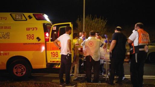 פצועה בינוני מפגיעת רכב בחיפה
