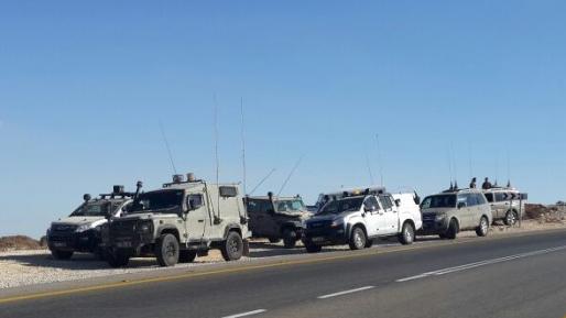 רק תרגיל במרחב כרמל: תנועה ערה של כוחות הביטחון וקולות נפץ יישמעו