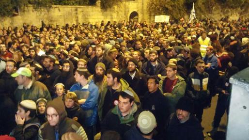 3,500 בהפגנה נגד פינוי עמונה: ״לא נזוז סנטימטר״