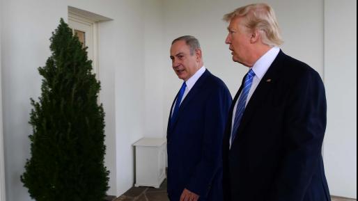 טארמפ לנתניהו: ״הפלסטינים יקבלו כסף רק אם ישובו למו״מ, את ירושלים הורדנו מסדר היום״