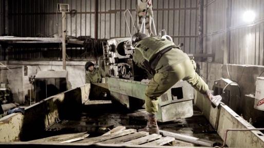 כוחותינו חשפו שלושה בתי מלאכה לייצור נשק