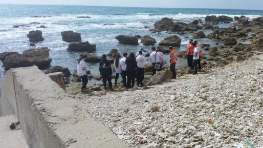 גופה אותרה על הסלעים בחוף הסמוך לחוף אולגה