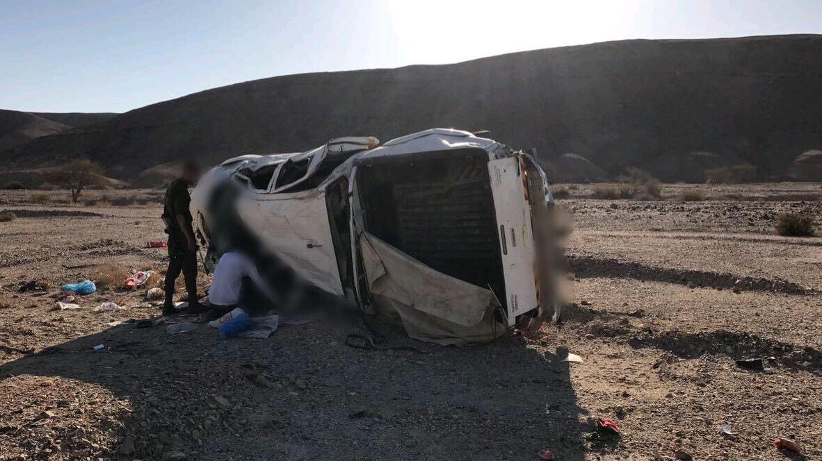 הרוג בתאונת דרכים סמוך למעלה עקרבים