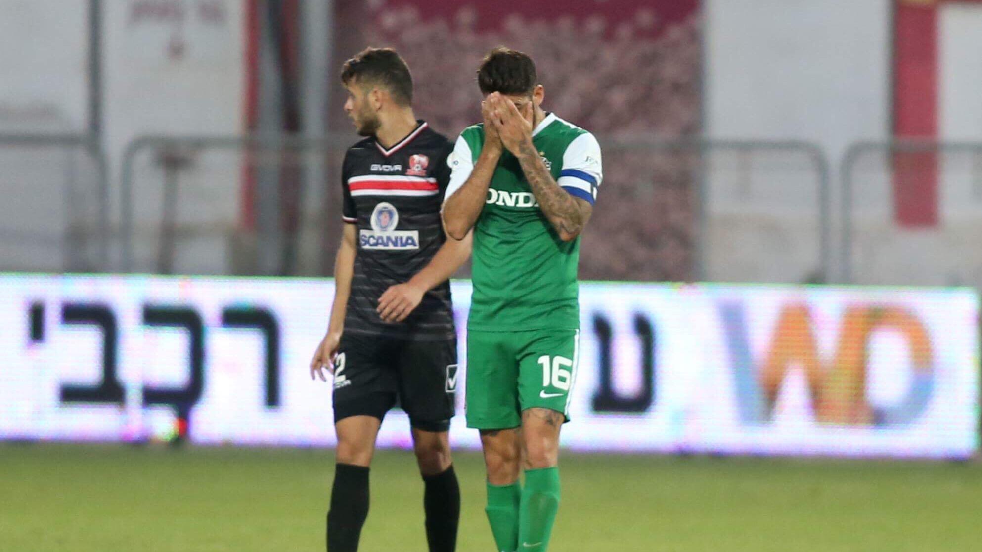 0:1 לסכנין בדוחא על מכבי חיפה. הפסד שביעי בפלייאוף לירוקים
