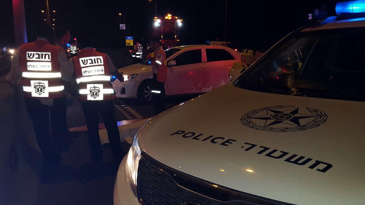 הרוג מפגיעת רכב סמוך לרשפון