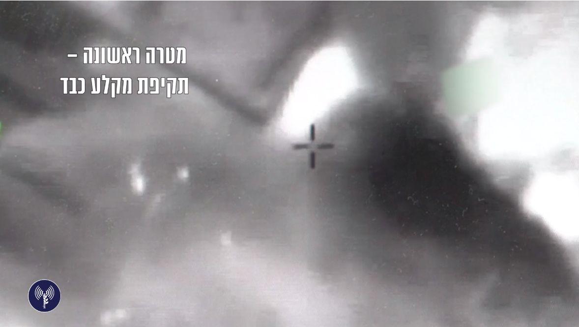 צפו: חייל האוויר תוקף בסוריה ומשמיד מטרות סוריות