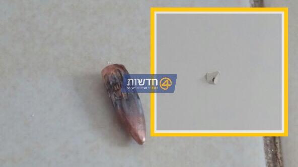 פרסום ראשון: קליע שנורה מכפר ערבי אותר בחדר הילדים בבית ביישוב מגרון