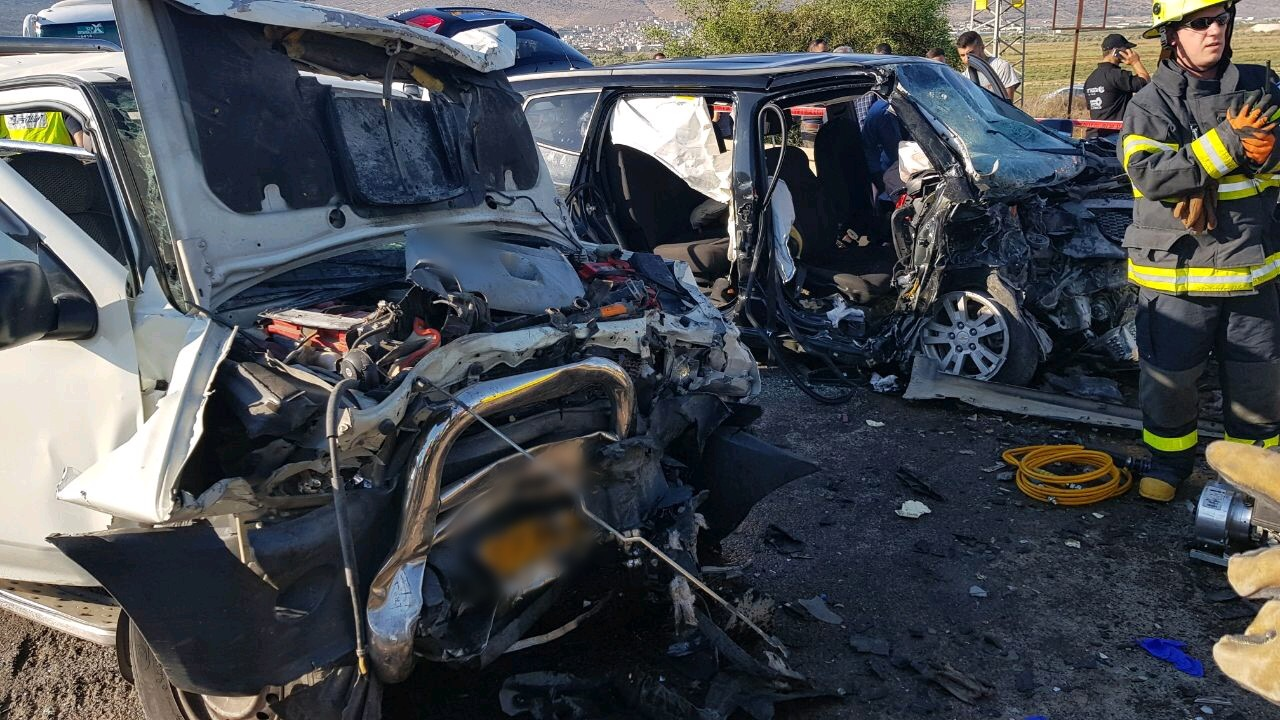 הרוג וששה פצועים בתאונת דרכים סמוך לחנתון