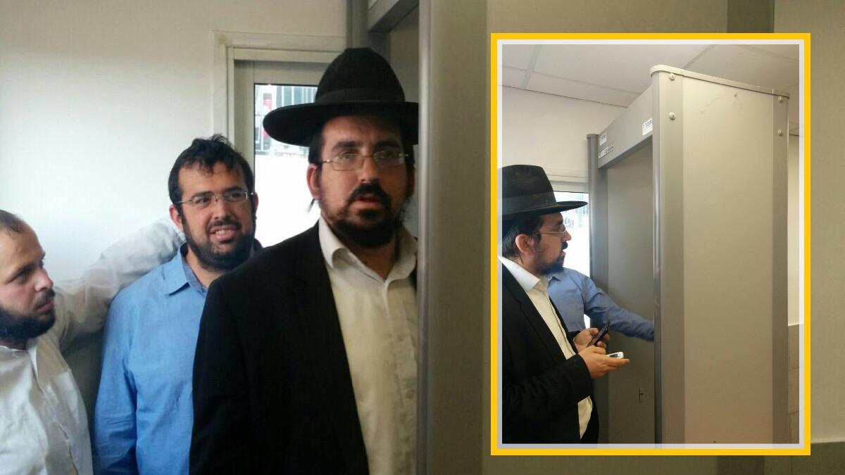 אפליה בהר הבית: מגנומטרים ליהודים ומצלמה מעל הראש