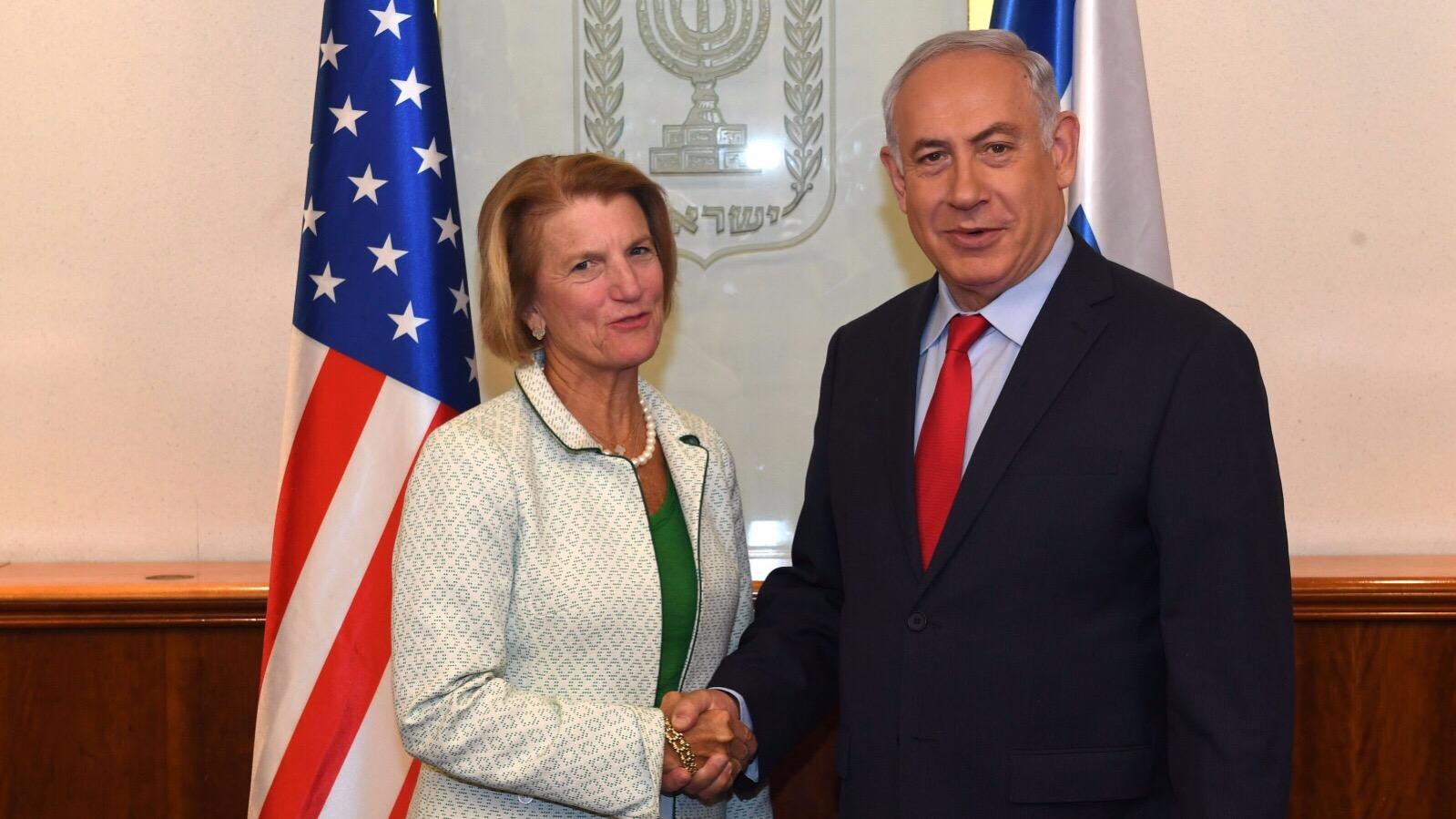 נתניהו הודה לסנטורית ממערב וירג'יניה על תמיכתה האיתנה בישראל