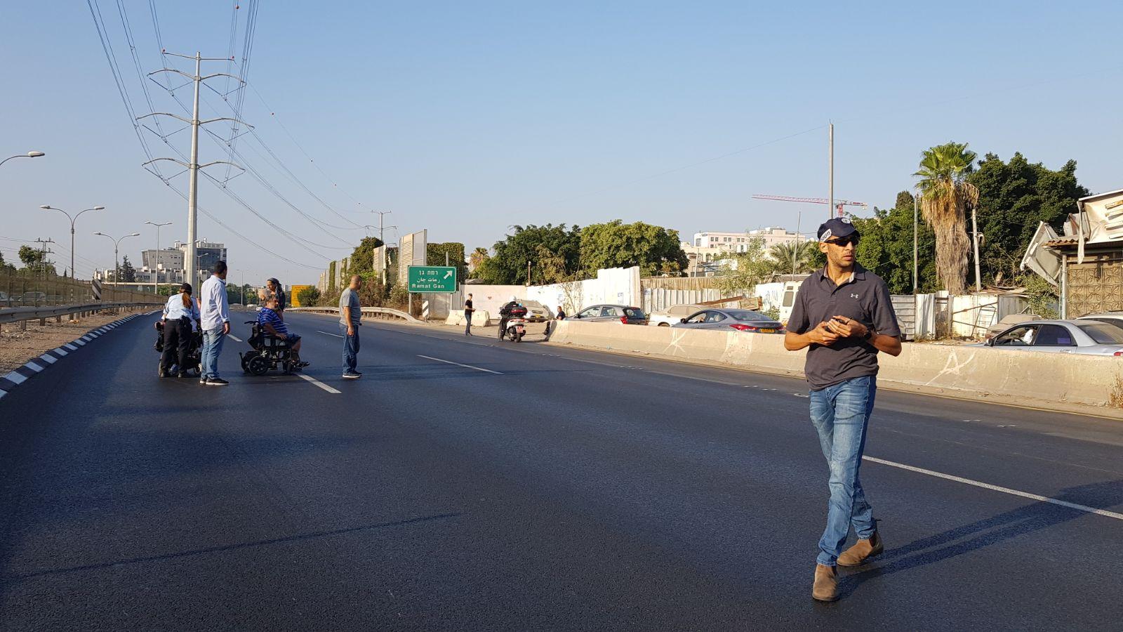 מחאת הנכים – חודשה התנועה בכביש 4