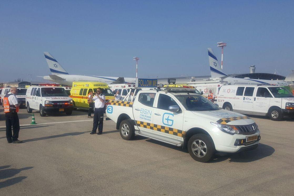כוחותינו יקיימו תרגיל ביטחוני בנמל התעופה בן גוריון