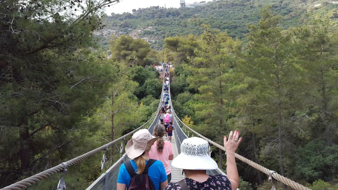 """""""צעדת אורי"""" ה-12 תתקיים בפארק הגשרים התלויים בנשר"""