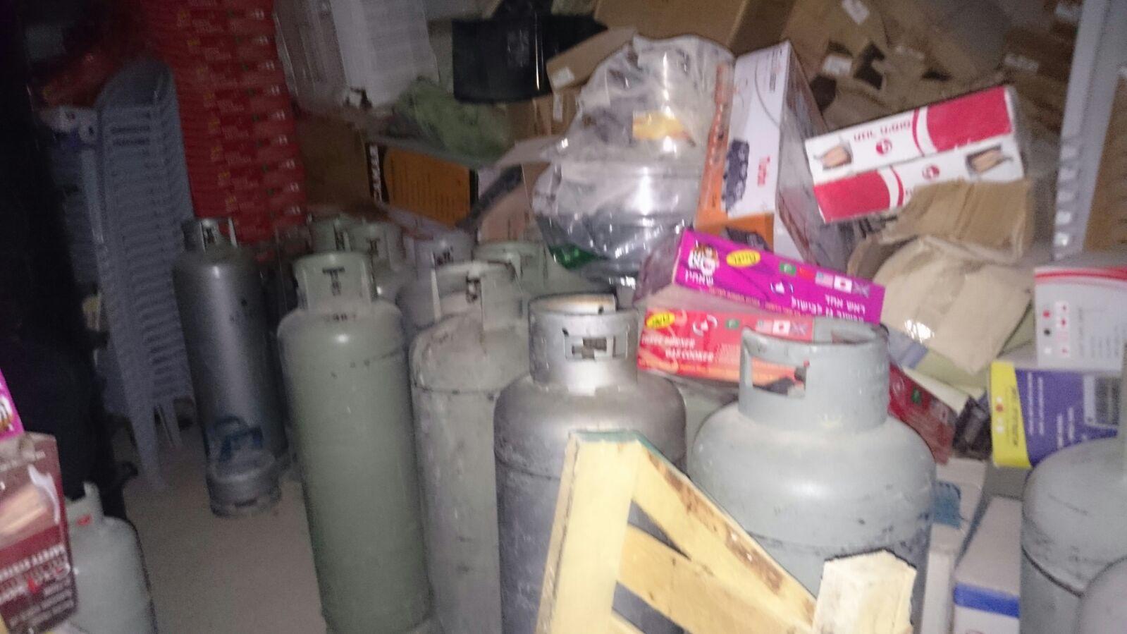 265 בלוני גז שאוחסנו והובלו באופן פיראטי נתפסו בפעילות מבצעית של כוחותינו במזרח ירושלים