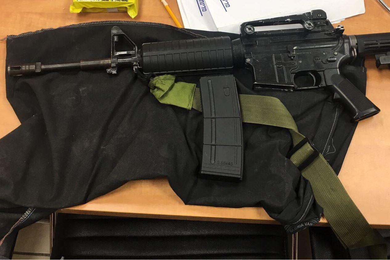 כוחותינו תפסו נשק ואקדח במהלך פעילות בגזרת ירושלים ורמאללה
