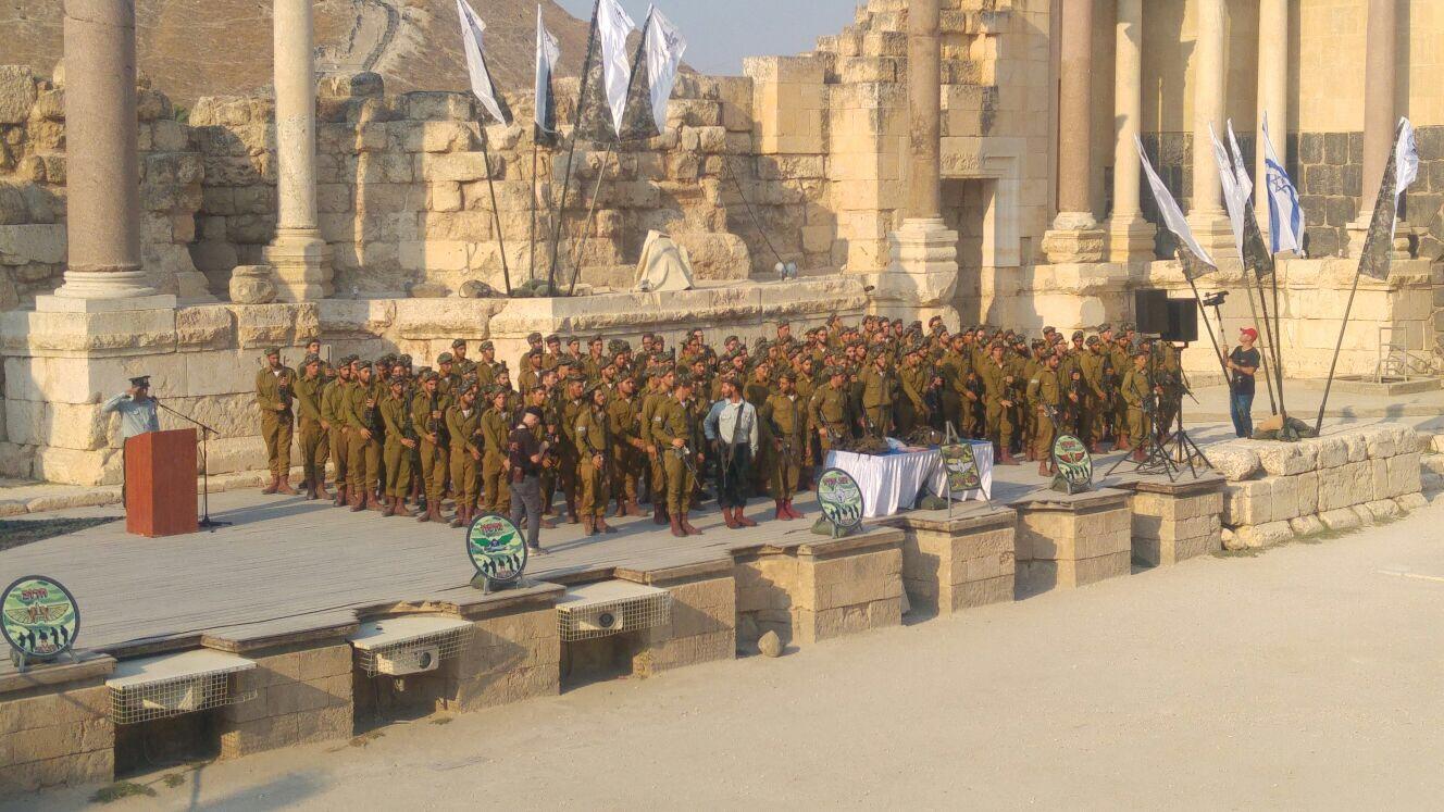 צפו בטקס קבלת כומתה של חיילינו מנצח יהודה בחטיבת כפיר