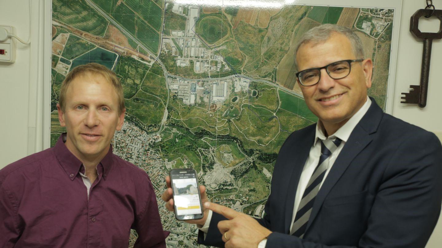 עיריית בית שאן חתמה על הסכם שיתוף פעולה עם חברת WishTrip