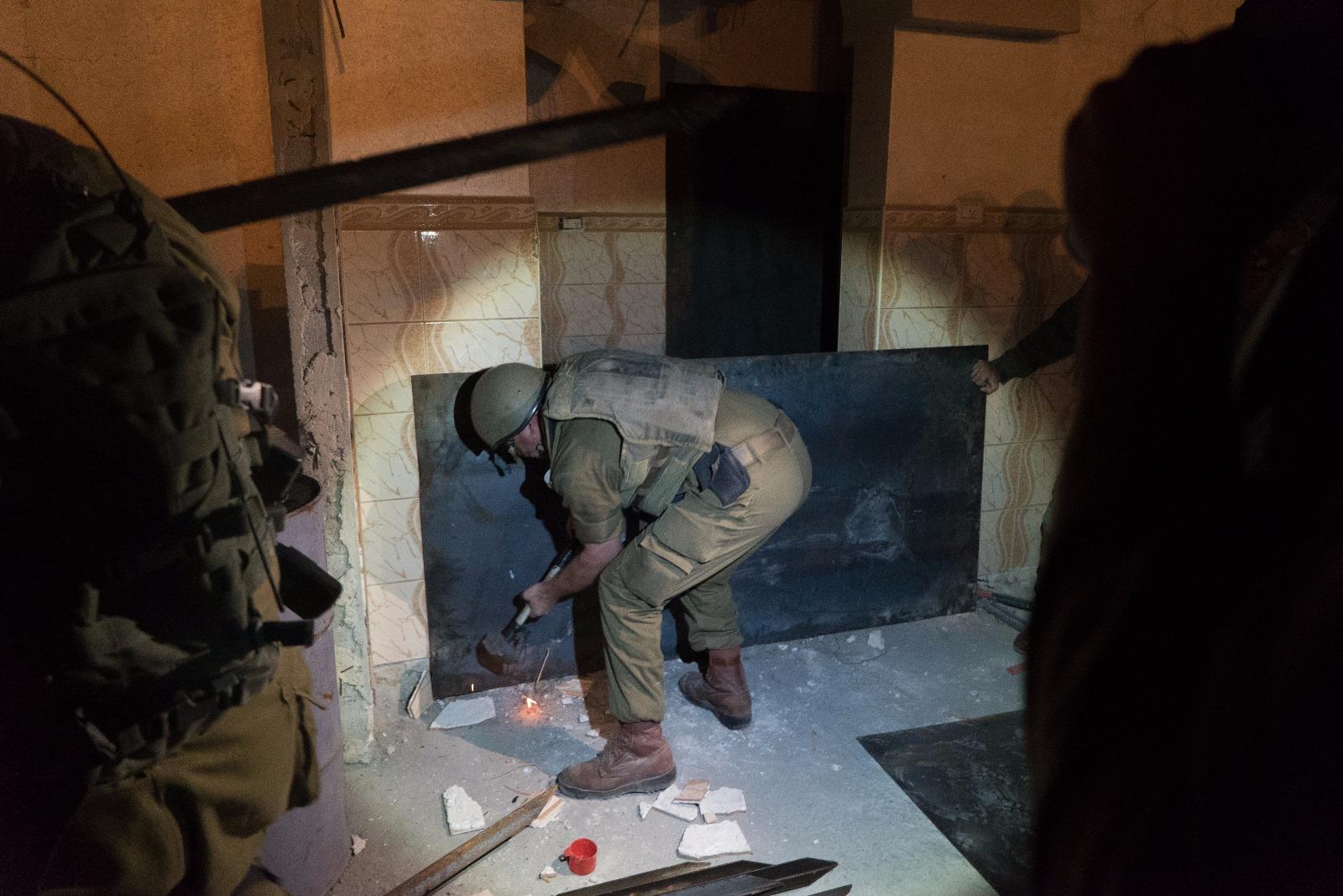 נאטם חדר נוסף בבית המחבל שביצע את הפיגוע בשרונה
