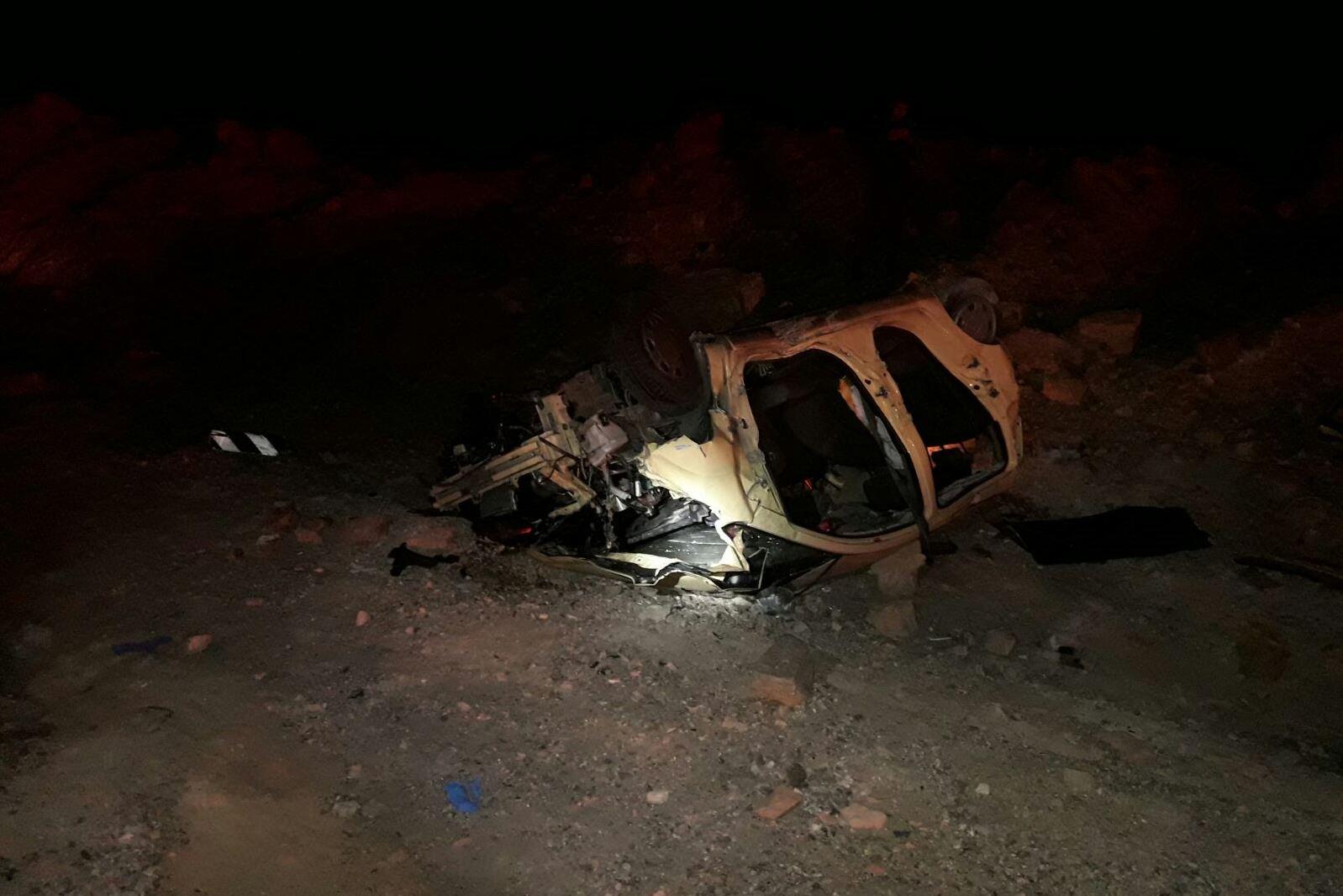 נער כבן 14 נהרג בתאונת דרכים בכביש 90 סמוך לקיבוץ יהל