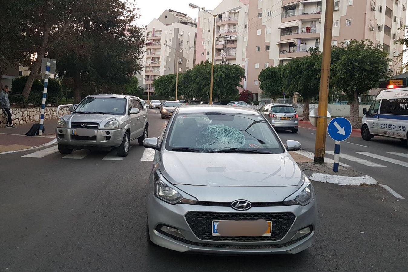 נער וילד נפצעו מפגיעת רכב באשדוד – פונו לבית החולים