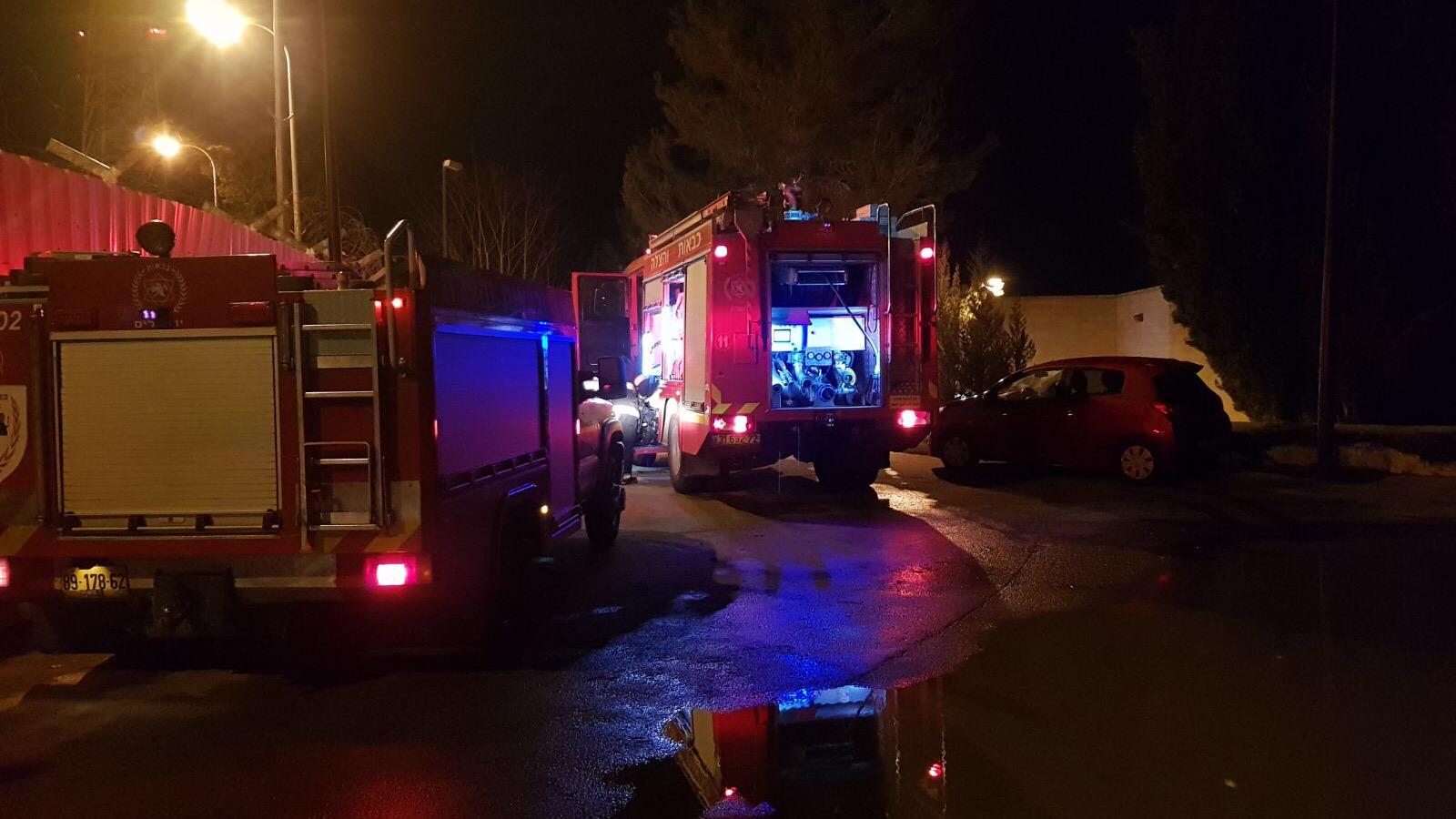 """שריפה פרצה במעון לבנות """"מסילה"""" שבמושב אורה – חשד להצתה"""