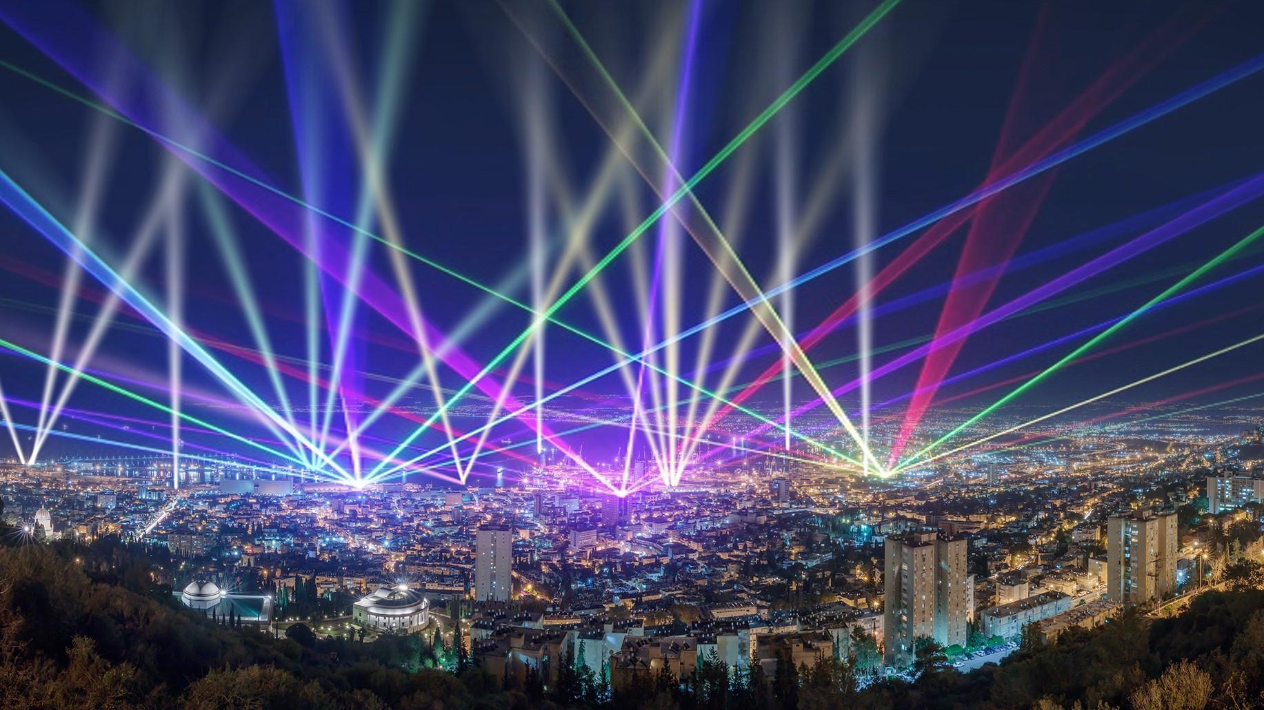 """חיפה מציגה: תחרות עיצוב בינלאומית להקמת מיצגים אור-קוליים בהשקעה של 20 מיליון ש""""ח"""
