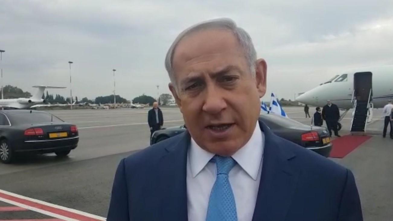 """נתניהו לקראת פגישתו עם פוטין: """"נדון על ניסיון איראן להפוך את לבנון לאתר טילים נגד ישראל"""""""