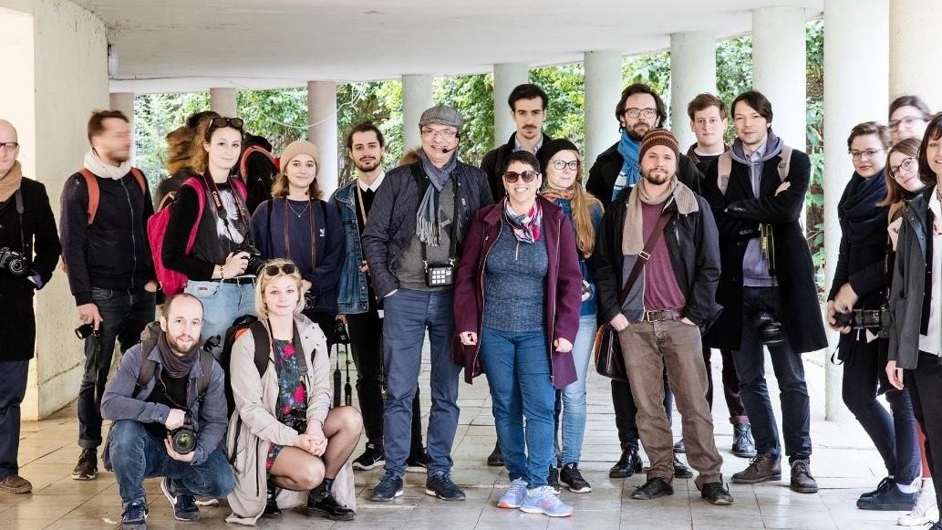 משלחת מחקר מאוניברסיטת הבאוהאוס בגרמניה בוחנת את השפעת האדריכלות הבינלאומית בחיפה