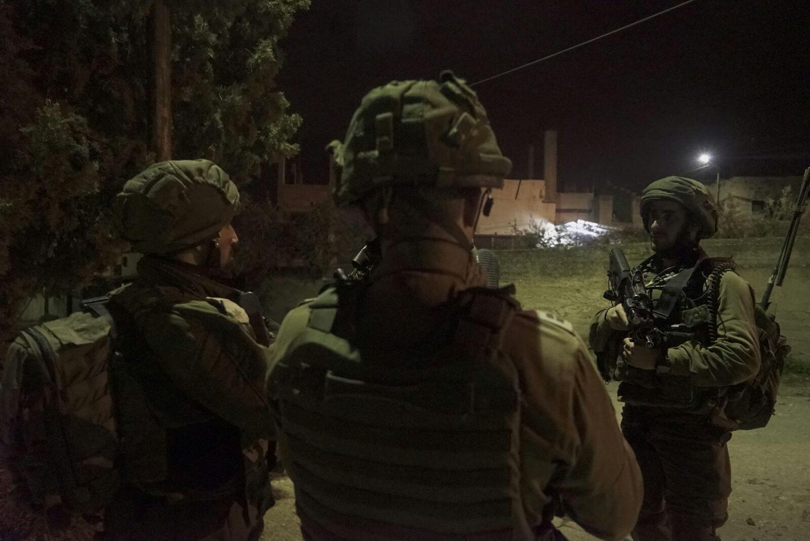 12 פעילי טרור נעצרו בסוף השבוע בפעילות כוחותינו ביהודה, שומרון ובקעה