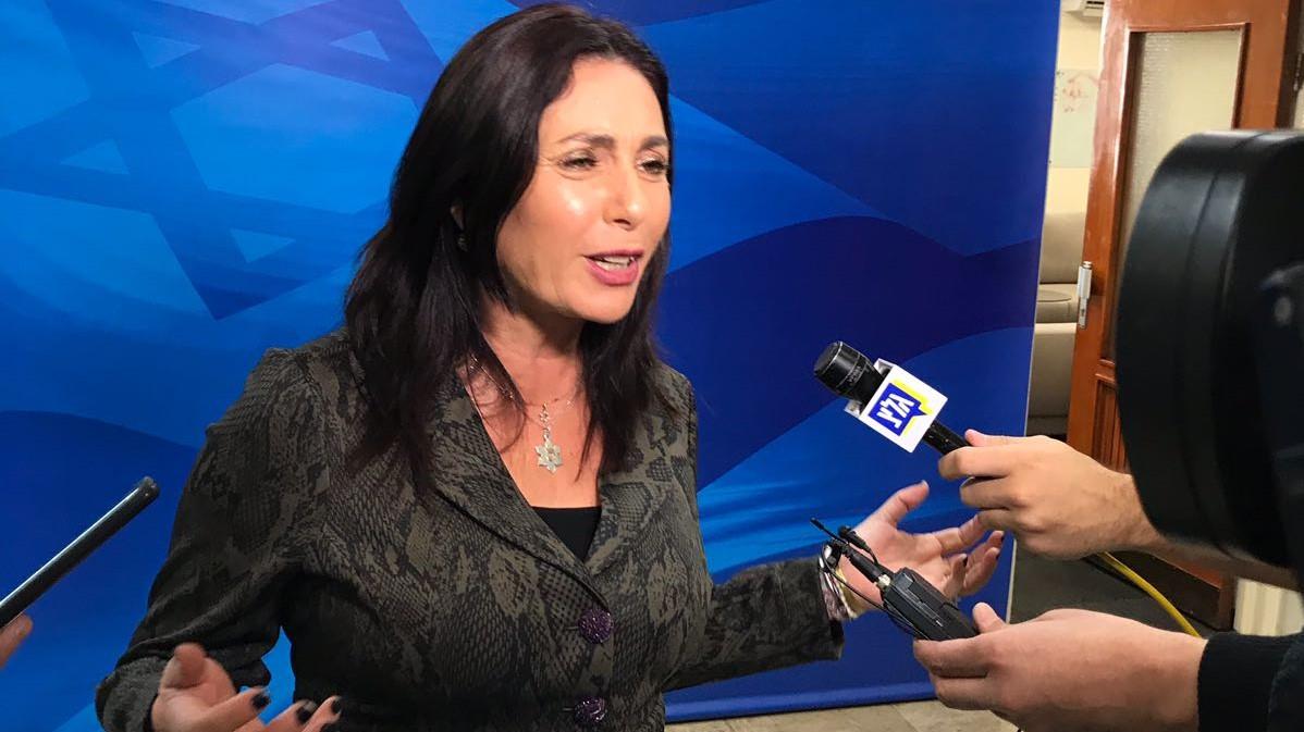 השרה רגב: ״לא זוכרת שאדלשטיין קנה את הר הרצל או רכש את הזכויות של טכס המשואות הממלכתי״