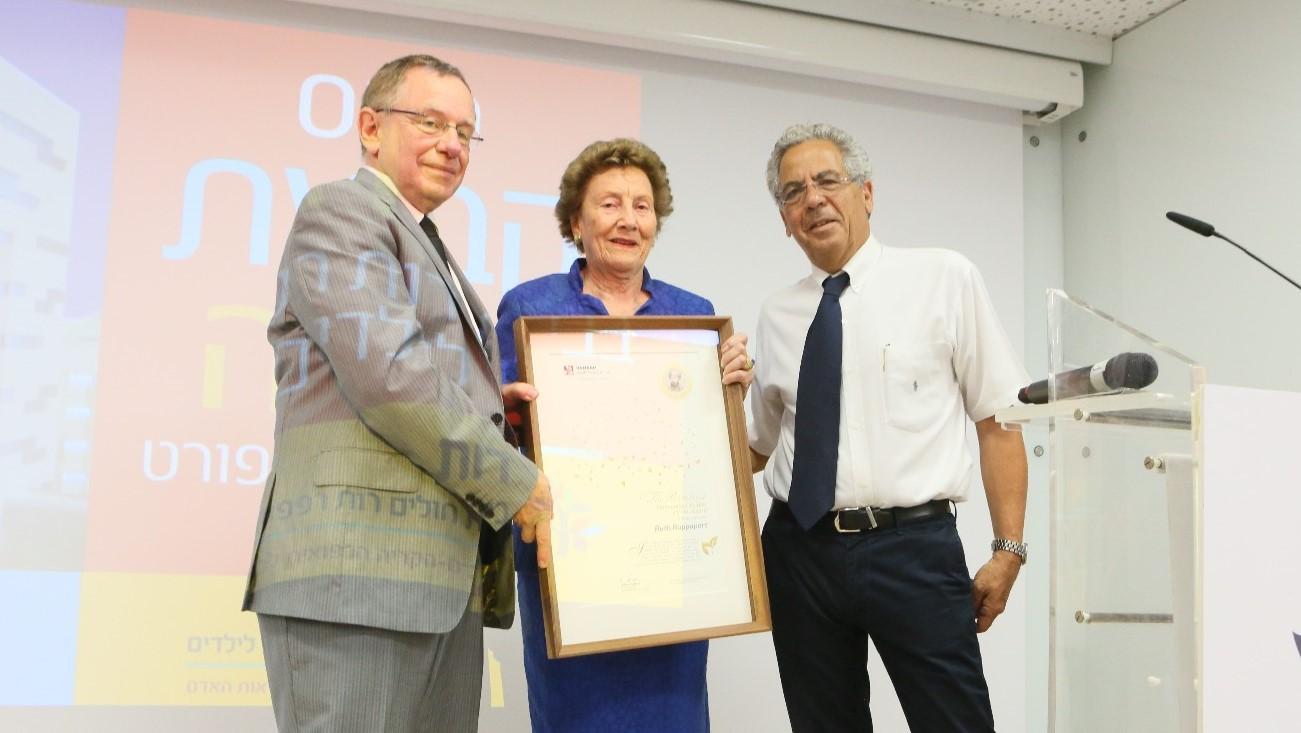 הלכה לעולמה רות רפפורט, שתרמה את בית החולים לילדים ברמב״ם