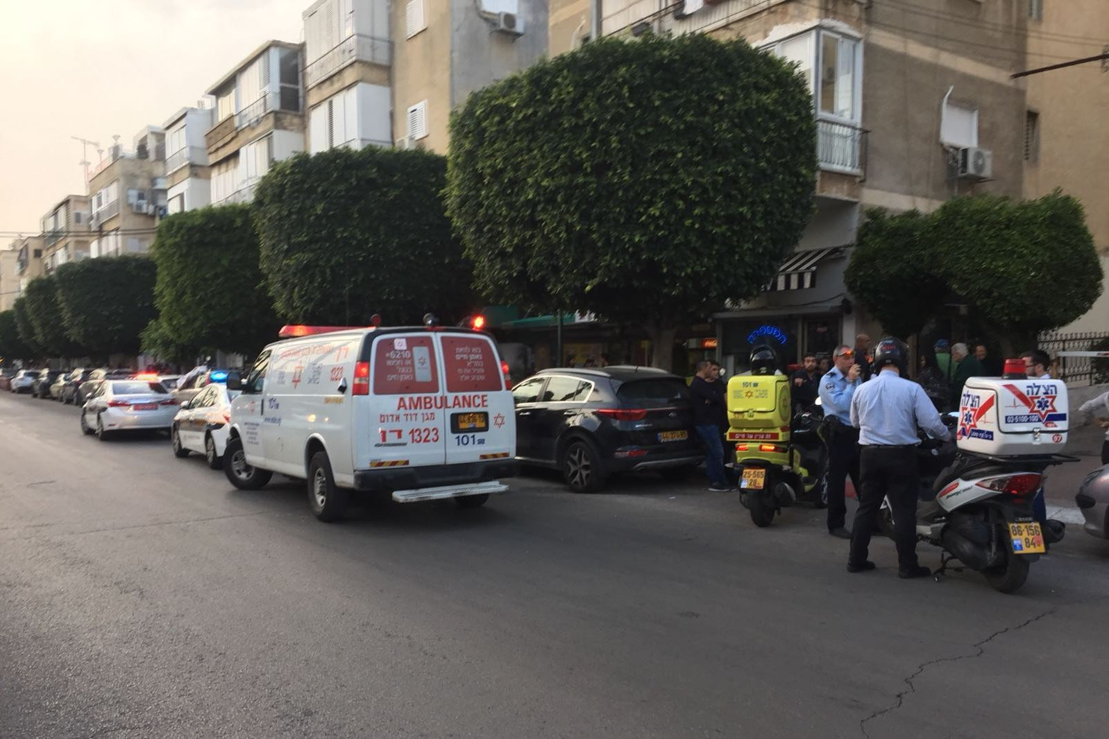 בן 17 נדקר ברחוב גורדון בגבעתיים – מצבו בינוני
